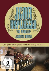 """DVD """"JGOH unplugged - The Power of Acoustic Guitar"""""""