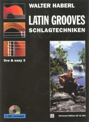 Walter Haberl | Latin Grooves - Schlagtechniken [Lehrwerk]