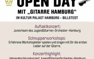 Open Day mit GitarreHamburg am 17.12.2017
