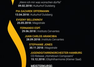 Hamburger Gitarrentage 2018 | Der Flyer ist da!