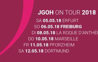 JGOH on Tour 2018
