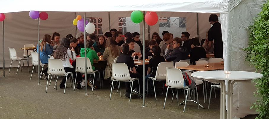 Aftershow Party mit dem Gitarrenorchester der Musikschule Erfurt