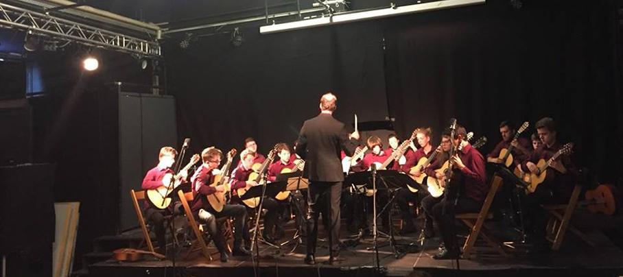 Konzert im Atrium der Jazz- und Rockschule Freiburg