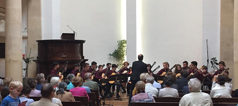 Konzert  im Temple de Grignan