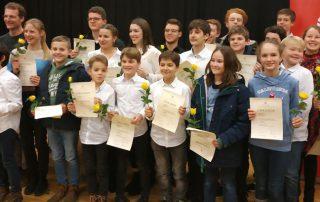 28.01.2019 | JGOH und sein Juniorteam einmal mehr erfolgreich  im Wettbewerb Jugend musiziert