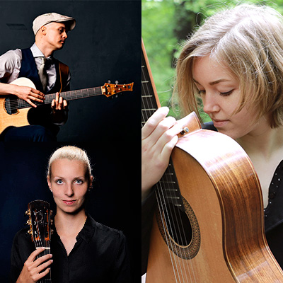 Fingerstyle-Night mit Petteri Sariola, Karlijn Langendijk & Judith Beckedorf | 29.10.2021