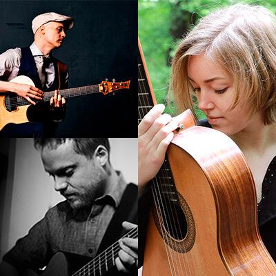Fingerstyle-Night mit Petteri Sariola, Karlijn Langendijk &Trevor Gordon Hall | 29.10.2021